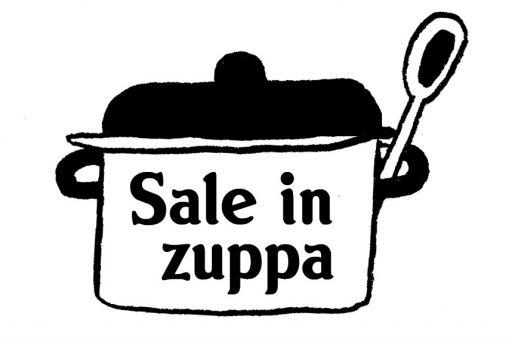 Annalisa Papagna illustration - Sale in Zuppa logo (detail)