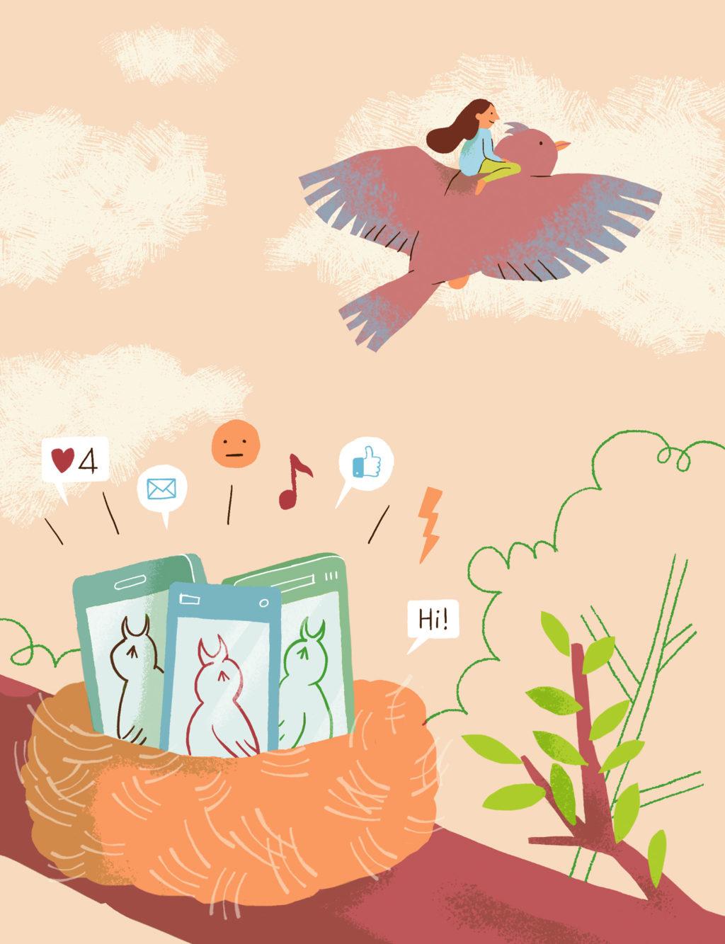 Annalisa Papagna illustration - Disconnect