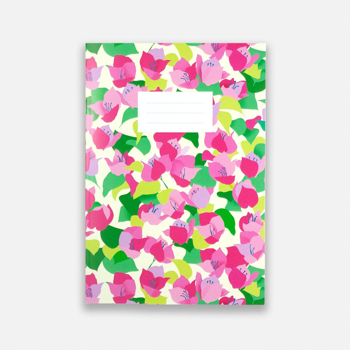 Annalisa Papagna shop - Bougainvillea notebook