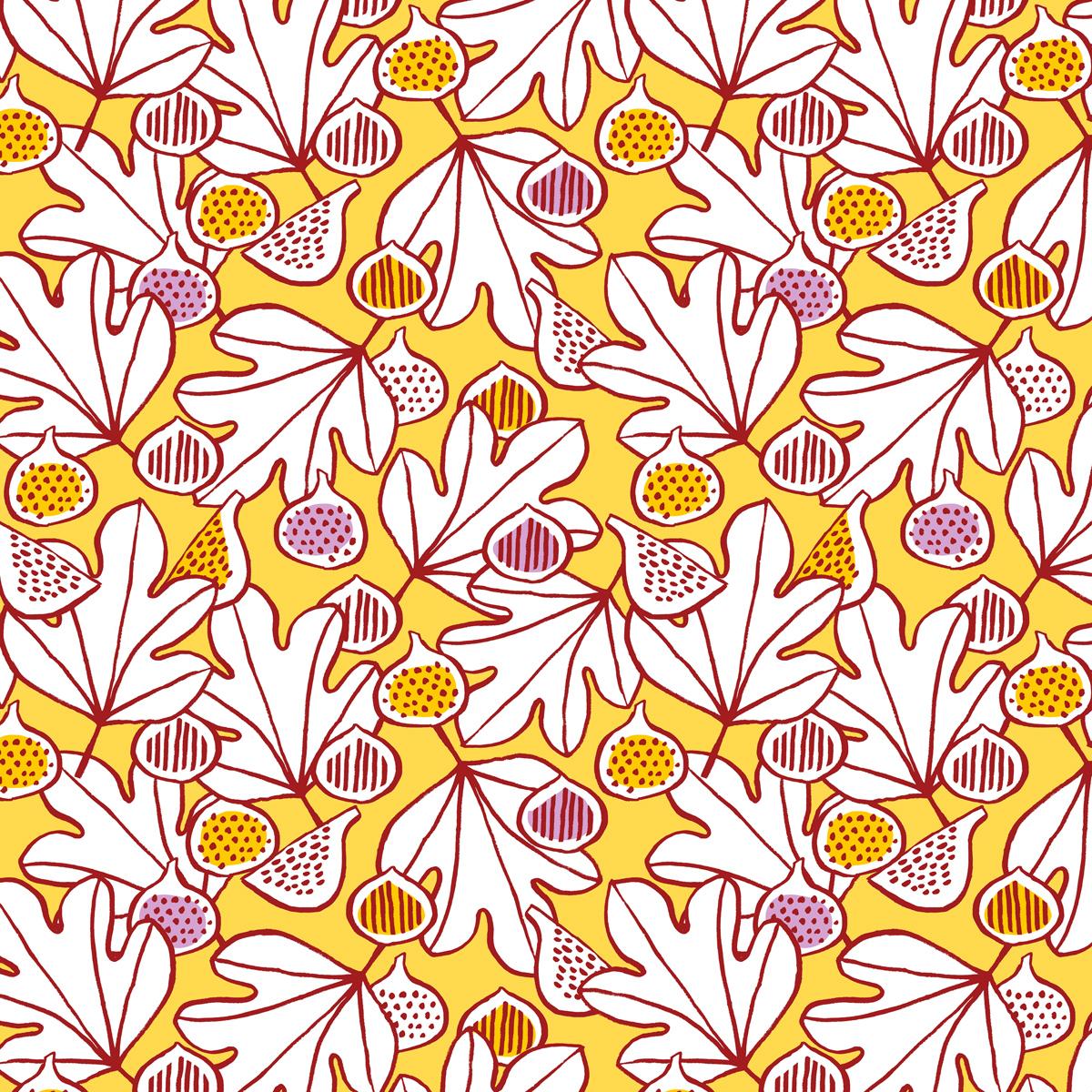 Annalisa Papagna shop - Figs pattern