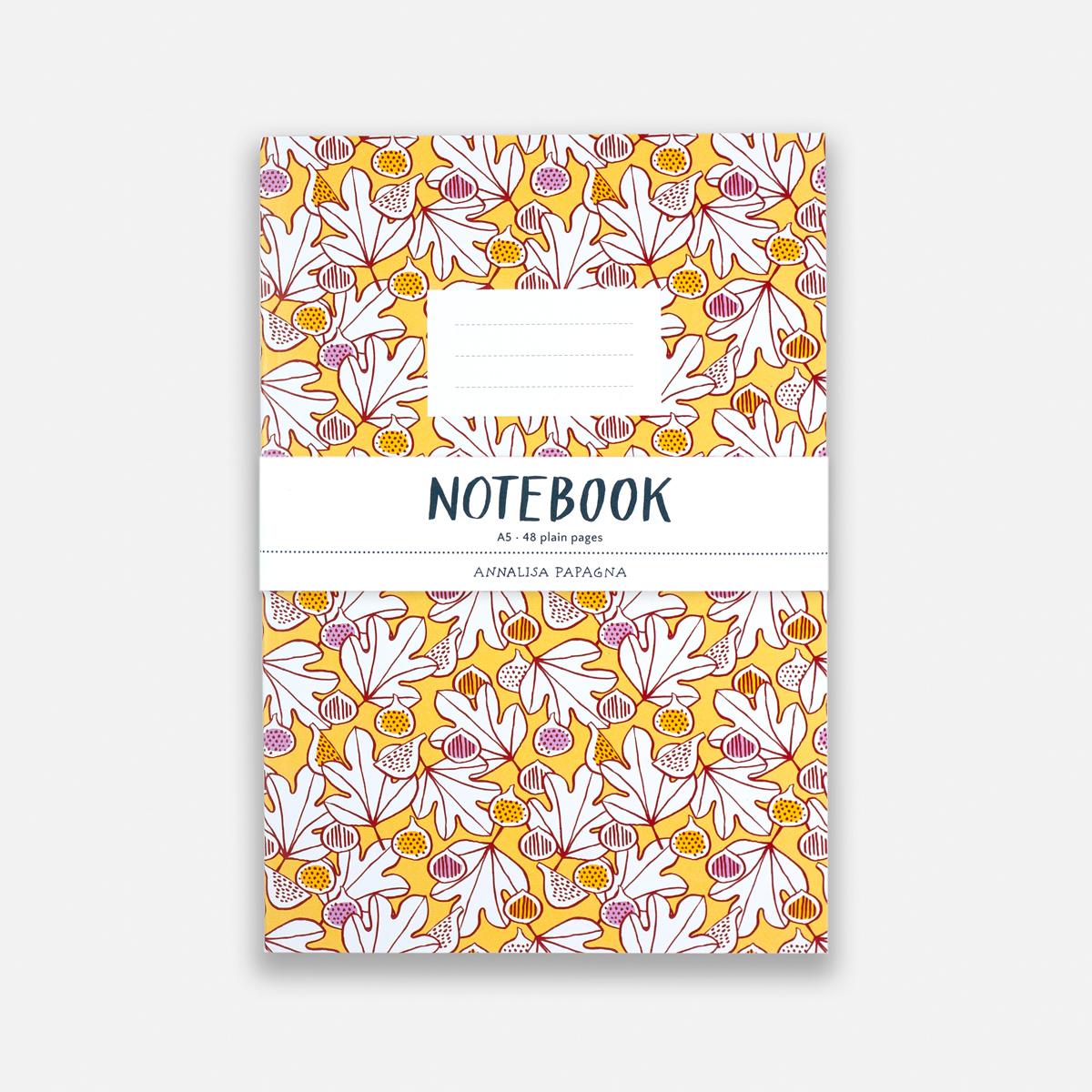 Annalisa Papagna shop - Figs notebook 2