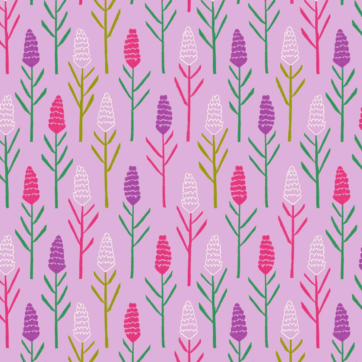 Annalisa Papagna shop - Lavender pattern