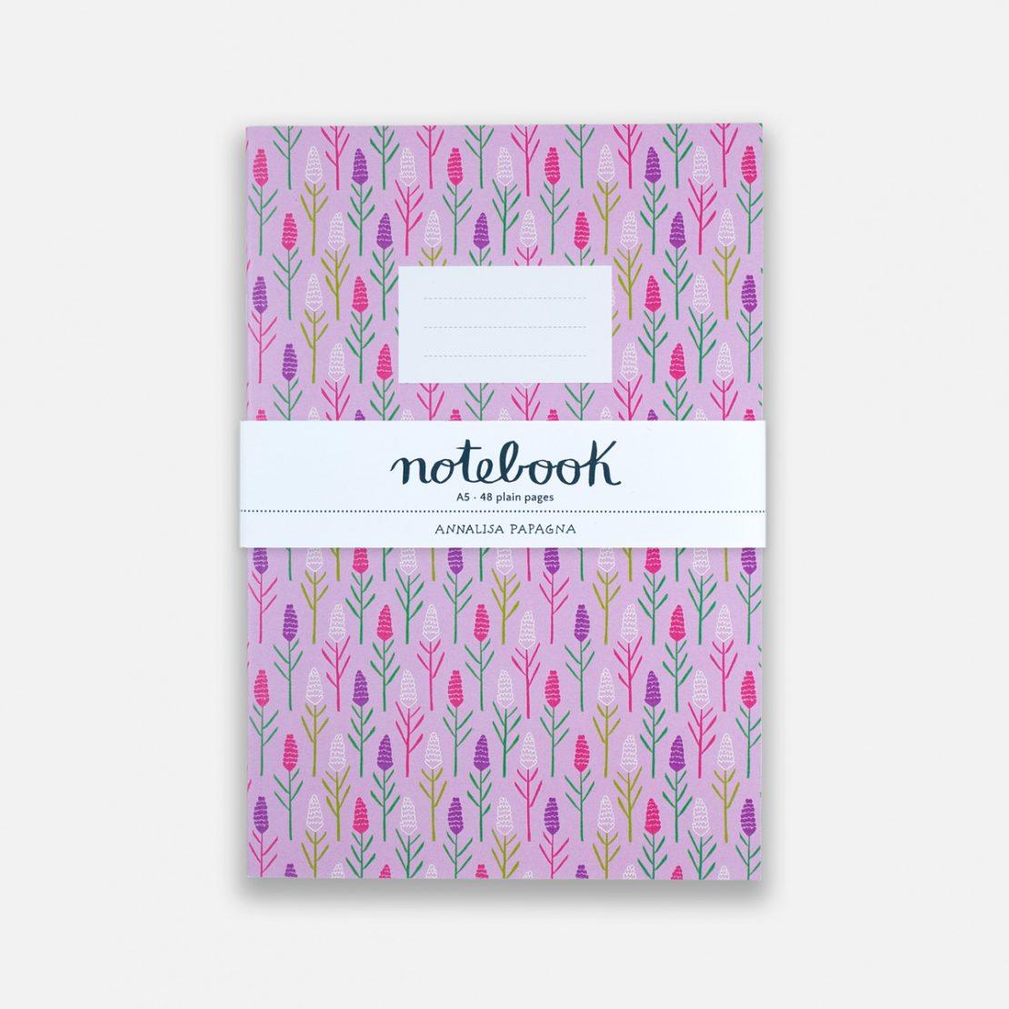 Annalisa Papagna shop - Lavender notebook 2