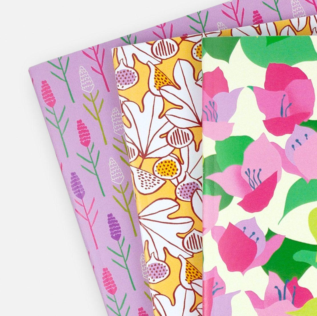 Annalisa Papagna shop - Summer Plant notebook set 2