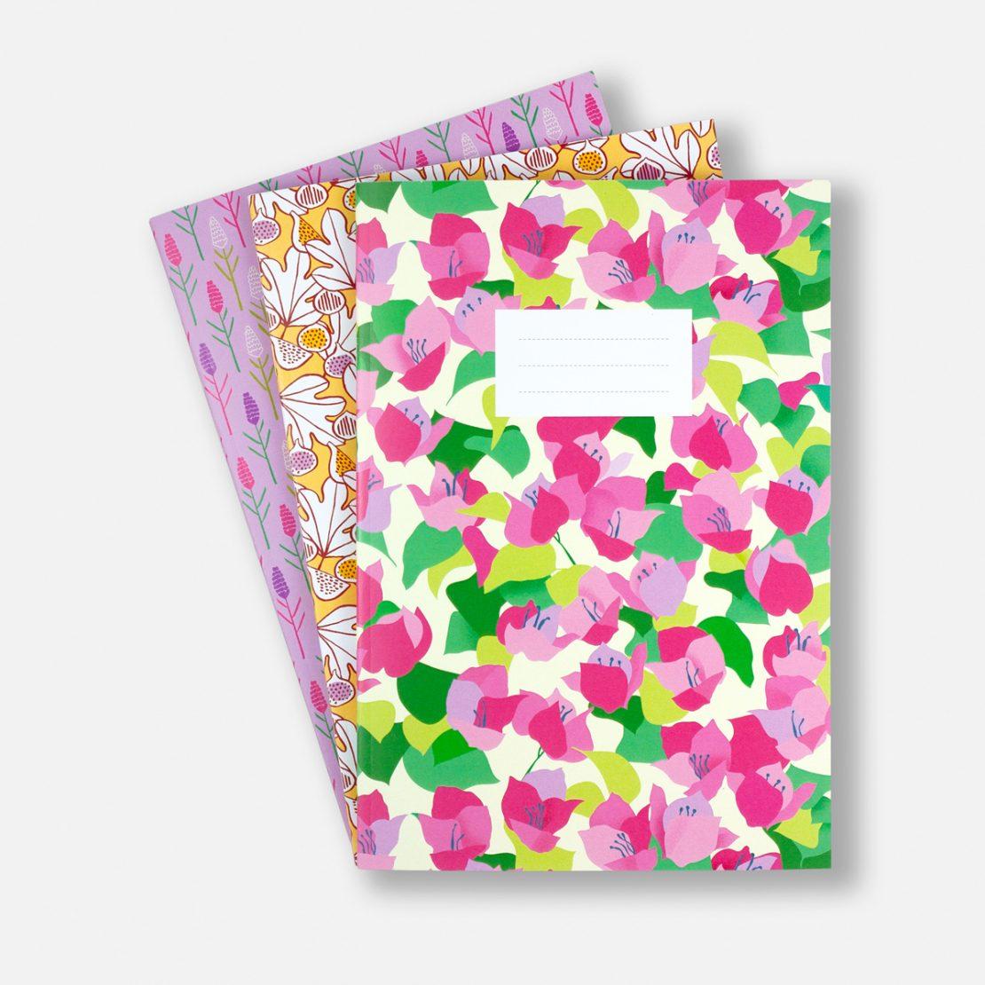 Annalisa Papagna shop - Summer Plant notebook set