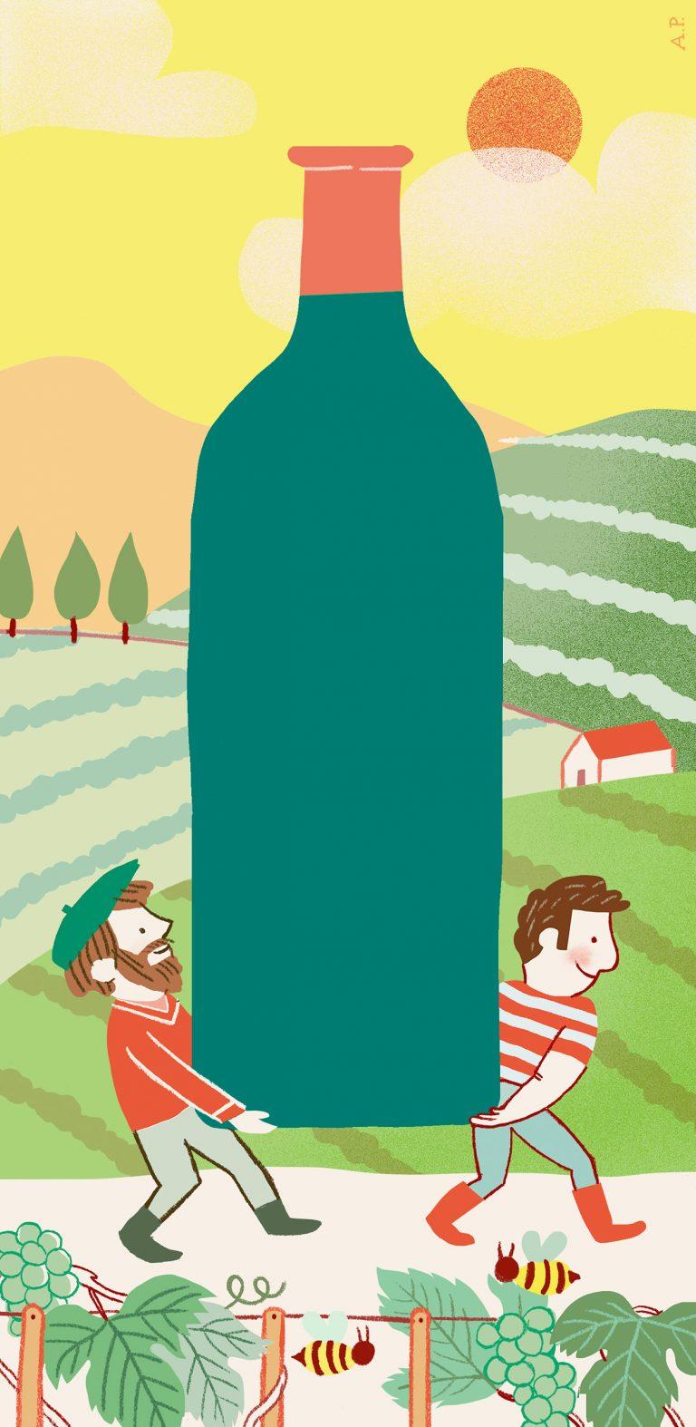 Annalisa Papagna illustration - Arte del vino