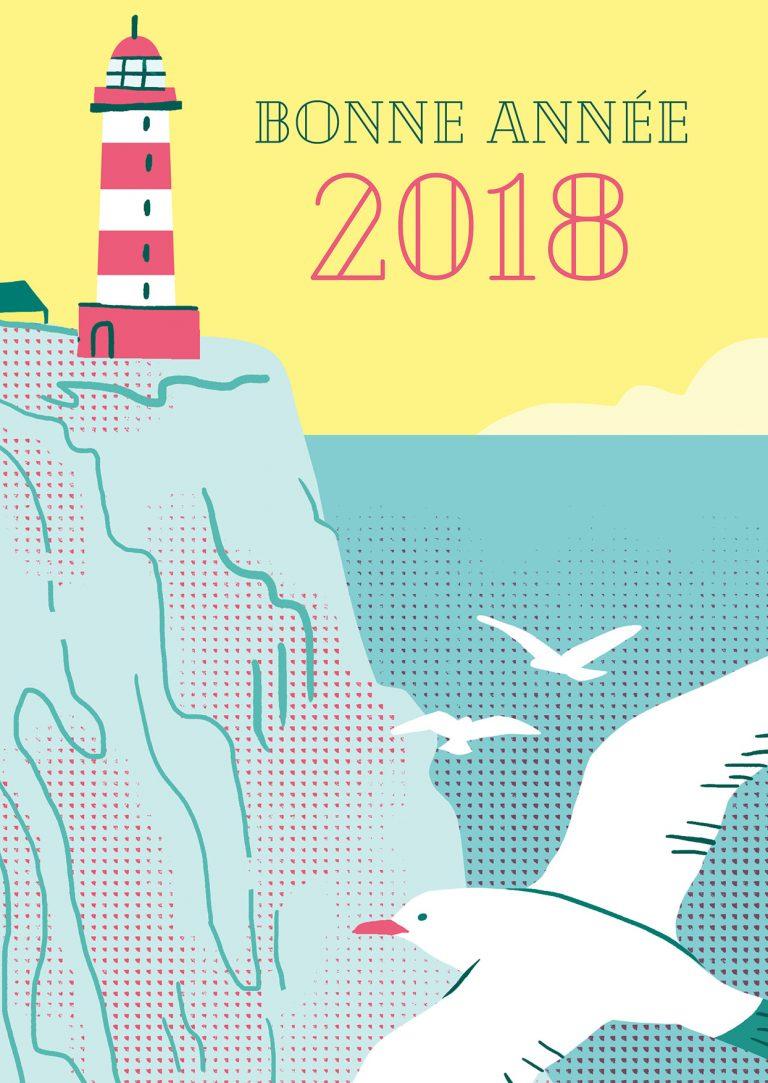 Annalisa Papagna illustration - New year card