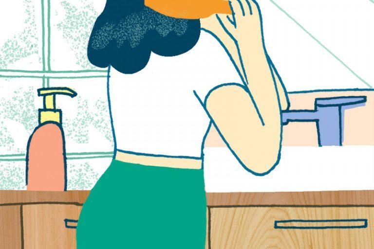Annalisa Papagna illustration - Healthy home (detail)