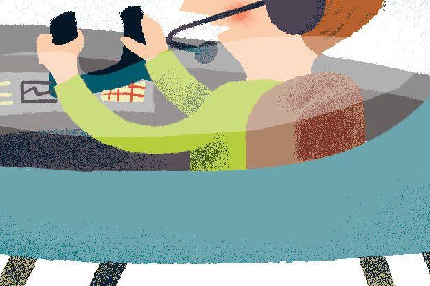 Annalisa Papagna illustration - Vehicles (detail)